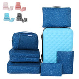 6pcs/lot Waterproof Breathable Travel Bag Set Large Capacity Clothes Storage Bag Travel Suitcase Finishing Bag Organizer Pouch