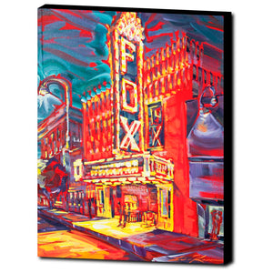 Fox Theater Fire Lights (2017)