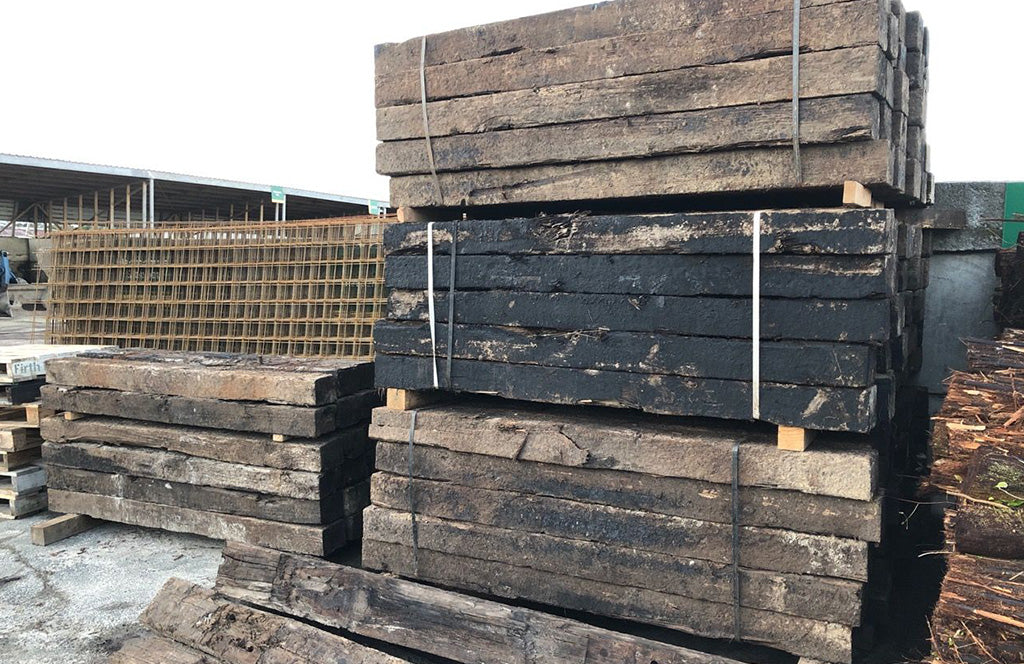 NZ Pine Railway Sleepers