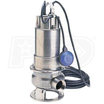 "Honda WSP100AA - 150 GPM (2"") Submersible Trash Pump w/ Float Switch"