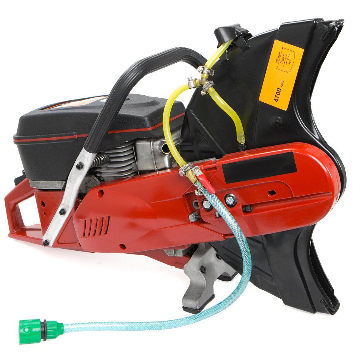 "Handheld Gasoline Cut off Saw Machine 14"" 94CC 2 Stroke Engine without Blade"