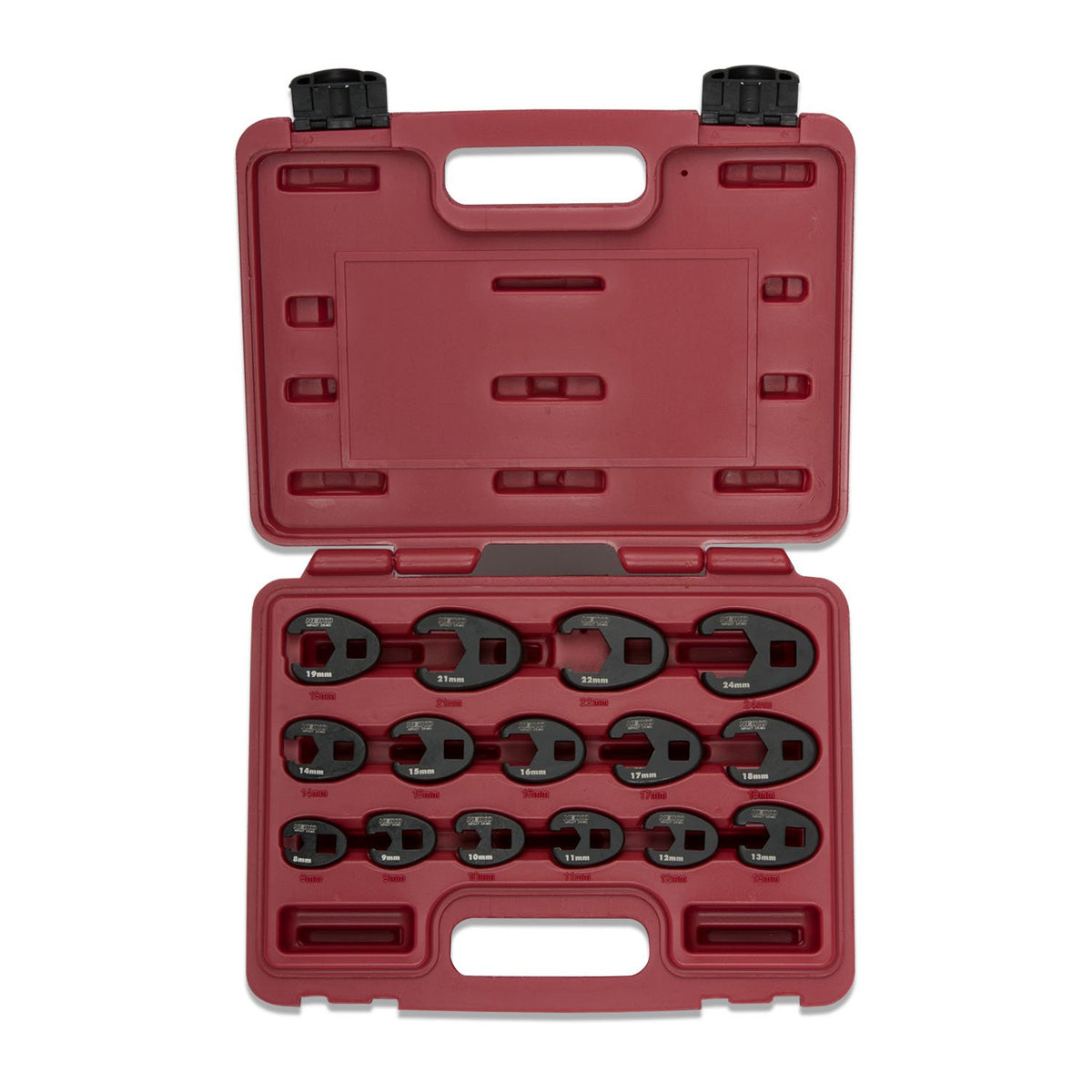 Crowfoot Wrench Set, 15 Piece | Jumbo Size
