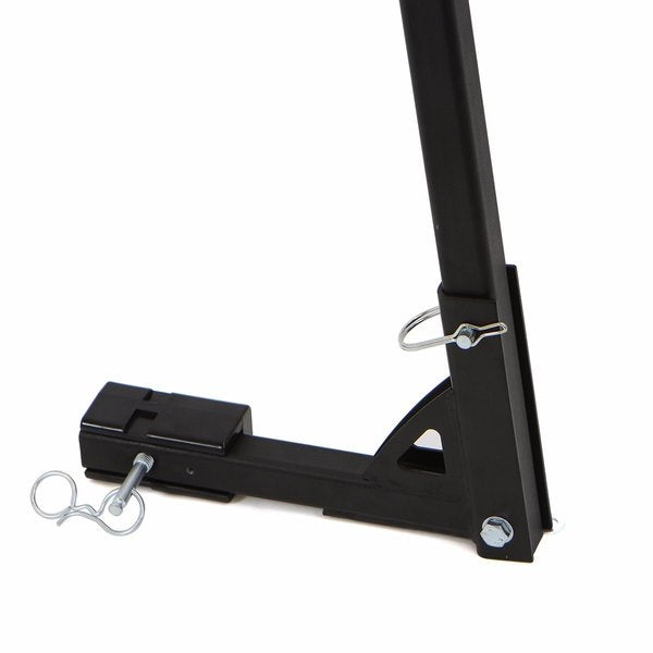 "Hitch Mounted 2 Bike Rack Carrier 1-1/4' & 2"" Hitch Receiver"