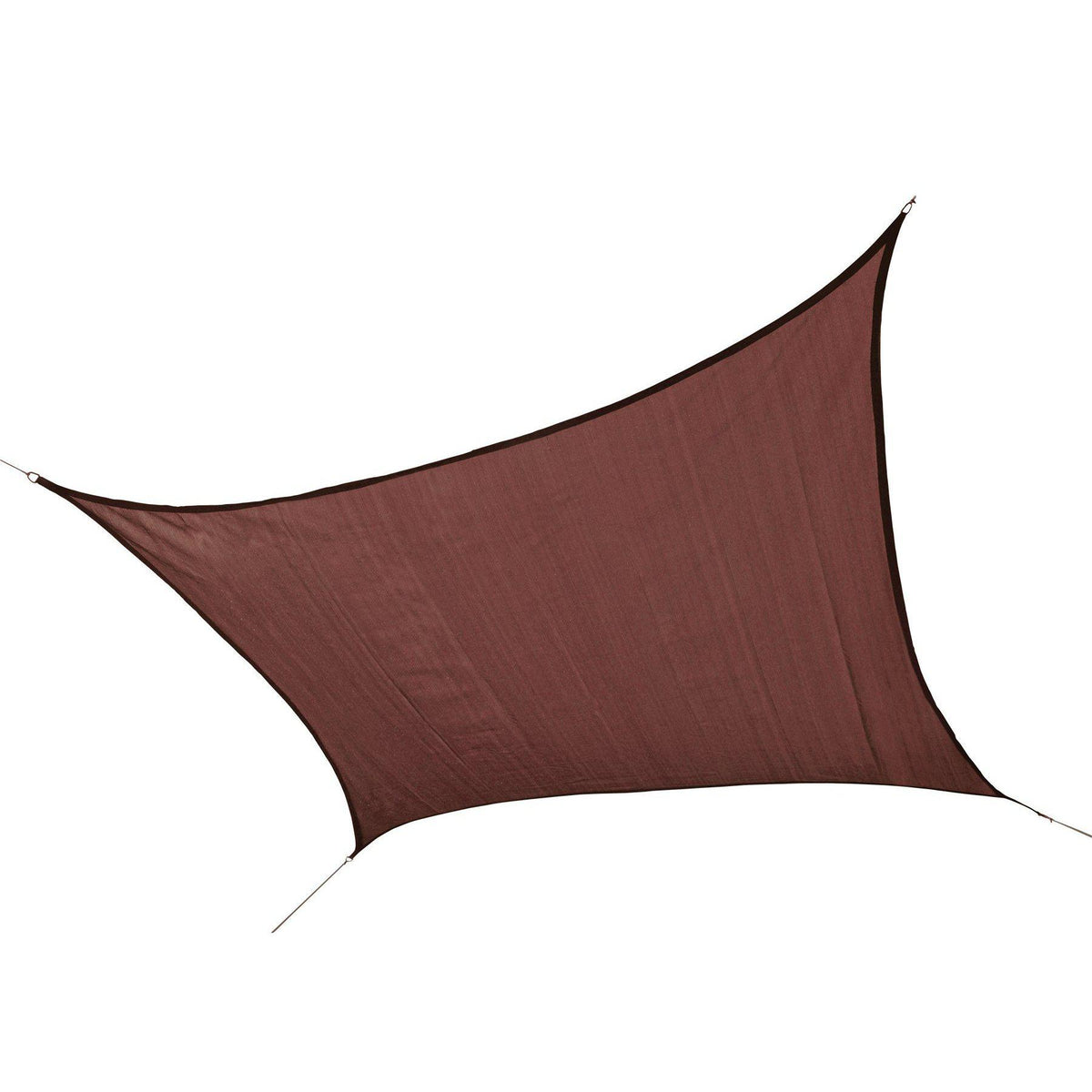 ShelterLogic 25673 230 GSM Square Shade Sail, 16-Feet, Terracotta