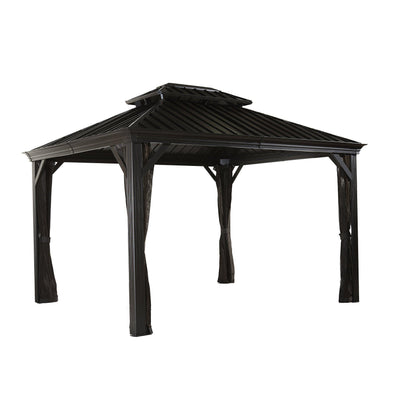 Sojag Messina Sun Shelter, 10' x 10', Charcoal