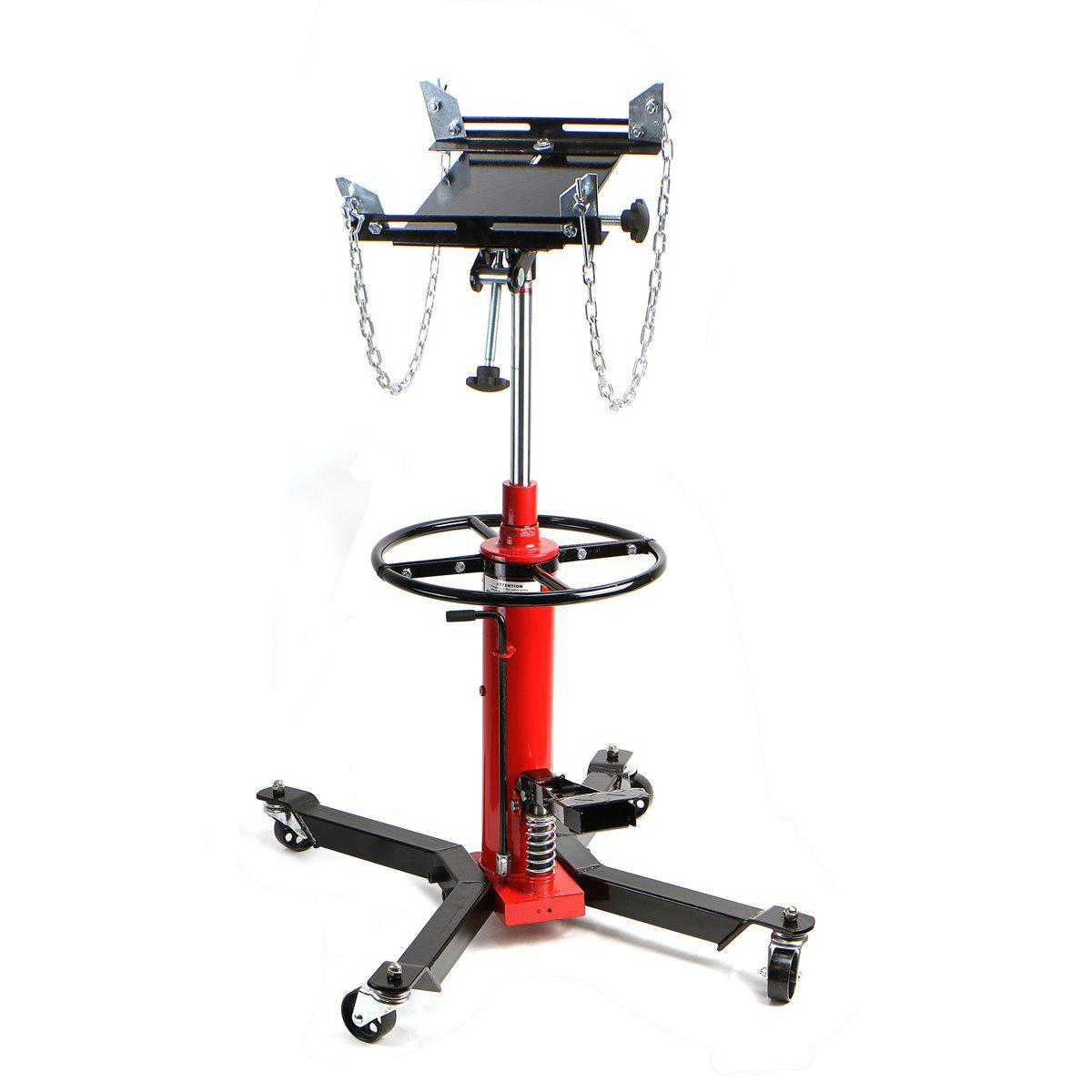 1/2 TON Transmission Jack Double Stage Hydraulic w/ 360 for car lift auto lift