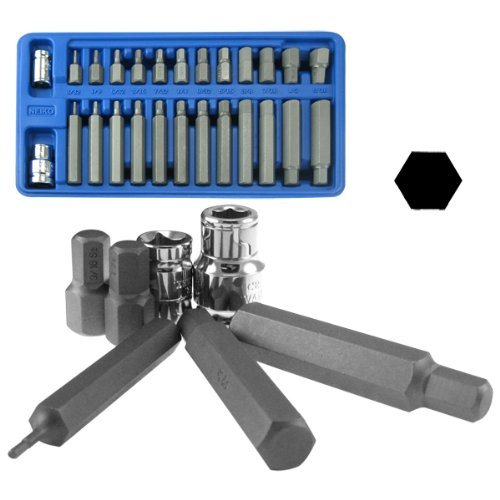 26PC S2 Hex Power Bit Heavy Duty 1/2
