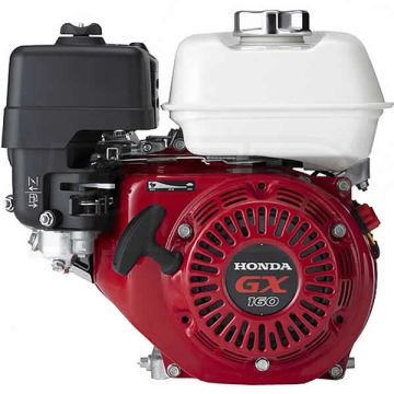 Honda GX160_ 163cc OHV Horizontal Engine, 2:1 Gear Reduction w/ Wet Clutch, 22mm x 2-3/32