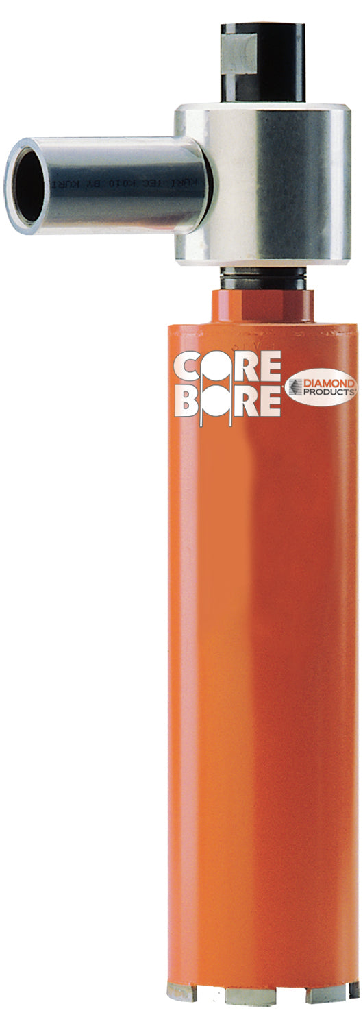 "6"" Heavy Duty Orange Dry Coring Core Bore Vauum Bit"