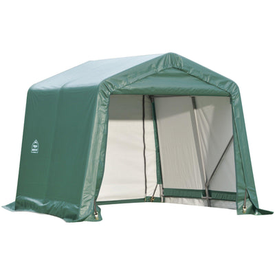 ShelterLogic 71824 Green 8'x16'x8' Peak Style Shelter