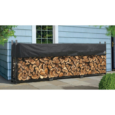 ShelterLogic Ultra Duty Firewood Rack with Cover, 4 ft.