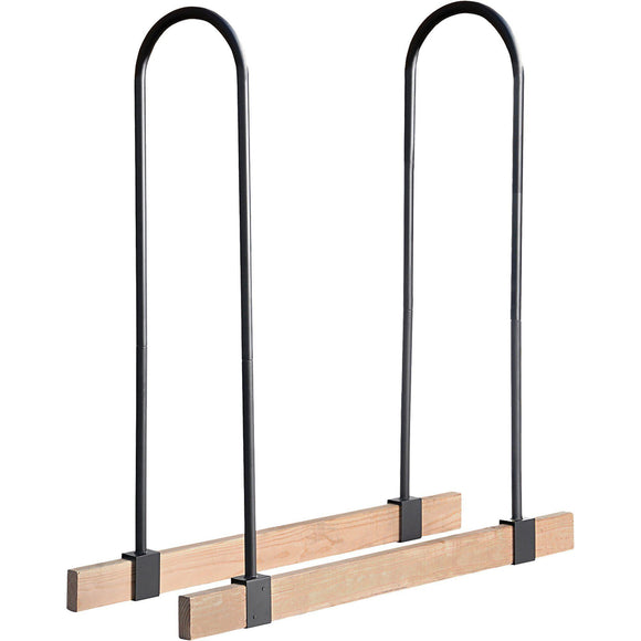 ShelterLogic LumberRack Firewood Rack Adjustable Steel Bracket Kit