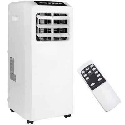 8000 BTU AC 3 in 1 Portable Air Conditioner Dehumidifier fan Unit with Remote and Vent Kit