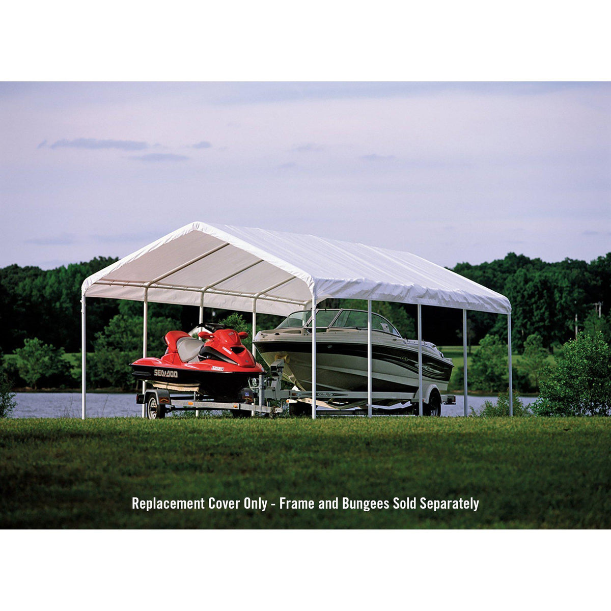 ShelterLogic SuperMax Canopy Replacement Cover