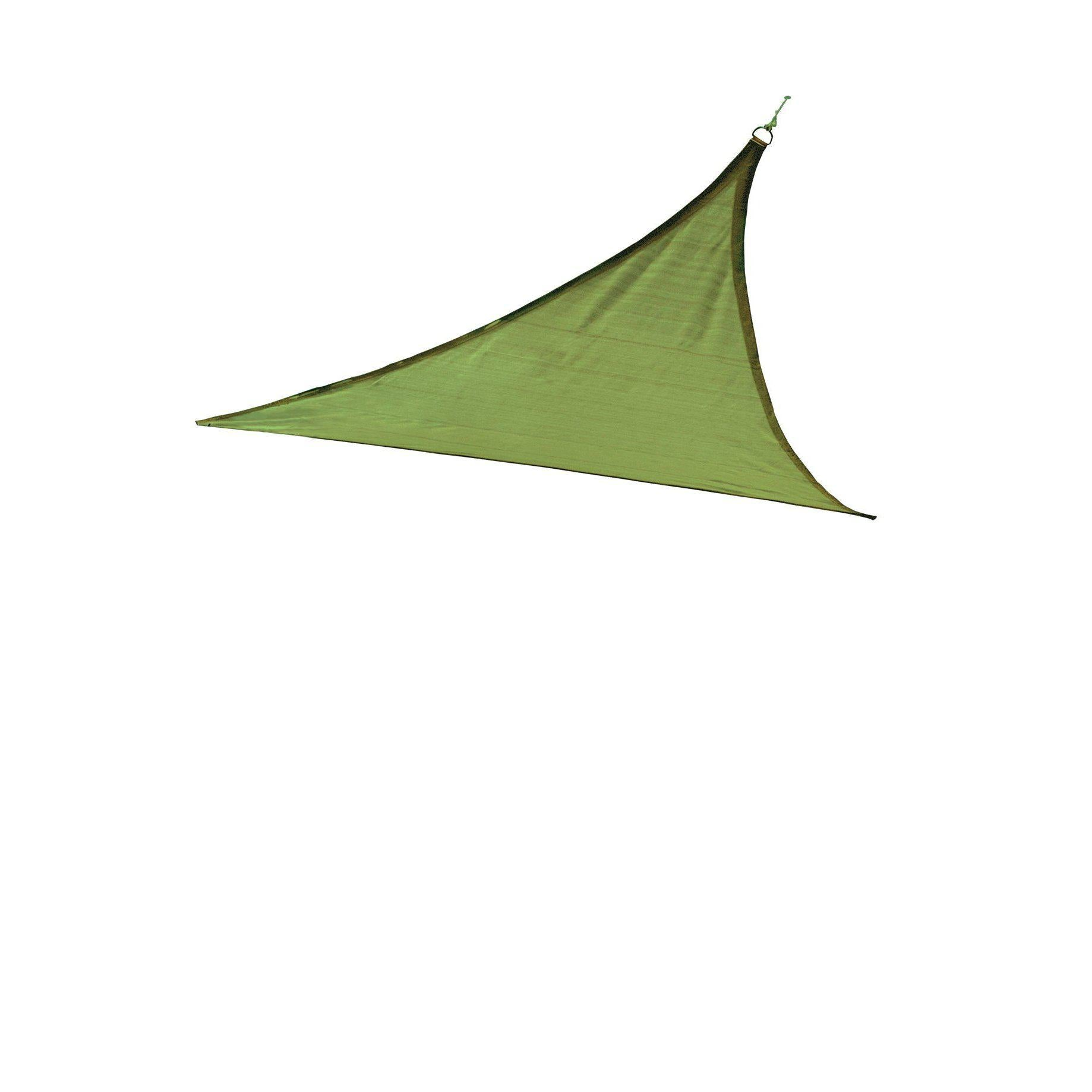 ShelterLogic Triangle Shade Sail, Lime Green, 12 x 12 x 12 ft.