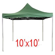 All Purpose Heavy Duty Pop Up Canopy foldable Gazebo 10' X 10'