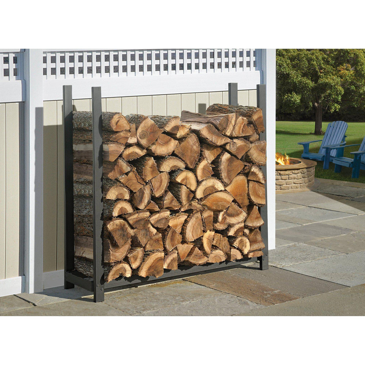 ShelterLogic Ultra Duty Firewood Rack without Cover