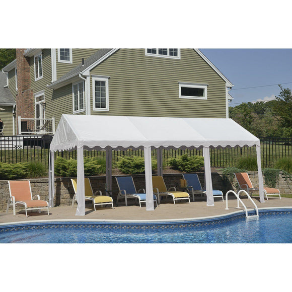ShelterLogic Party Tent, White, 10 x 20 ft.