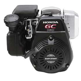 HONDA GC160LAQHA HORIZONTAL ENGINE 2.44 x .75