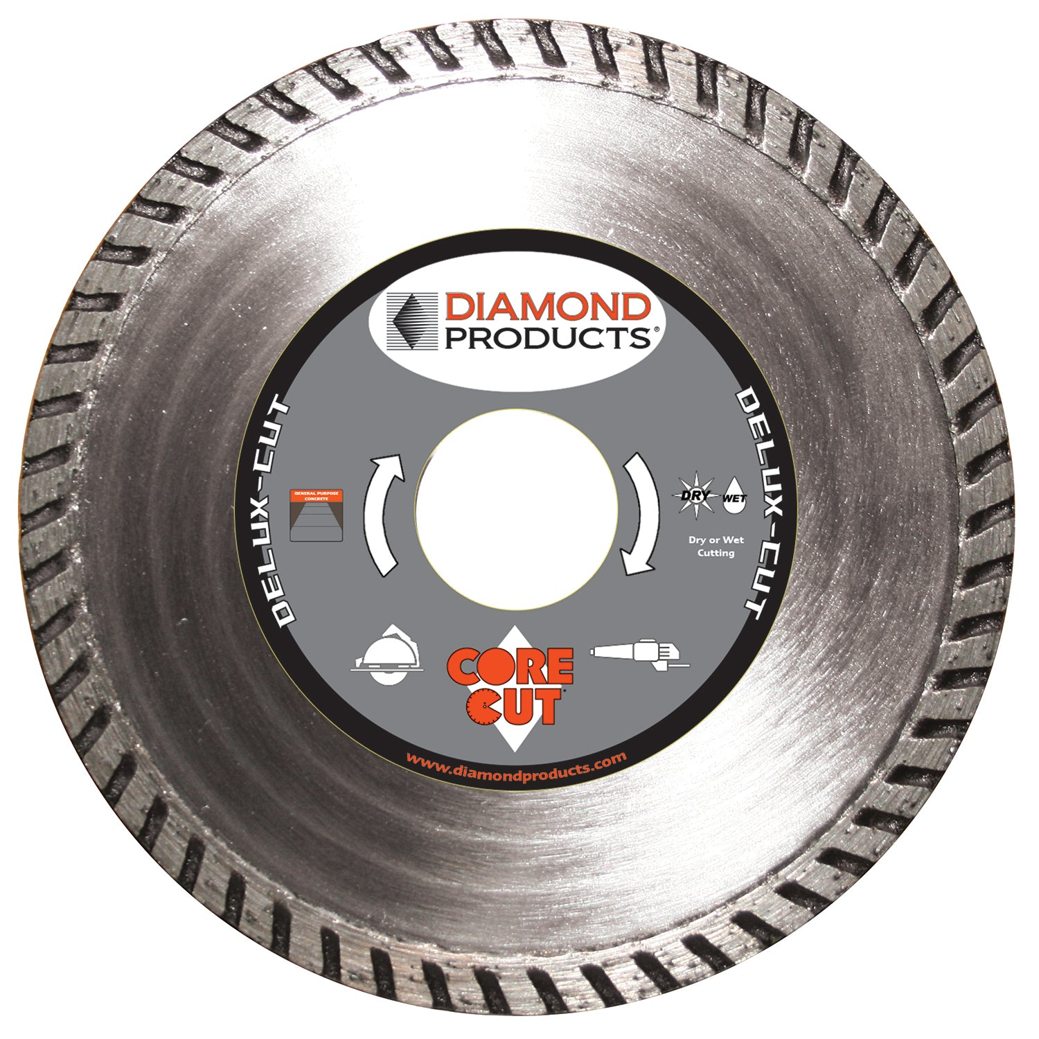"4"" x .080"" x 7/8"" Delux-Cut Turbo Blade"