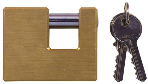 "H Keyed-Different U-Shaped Keyed Padlock 2"" (50mm)"