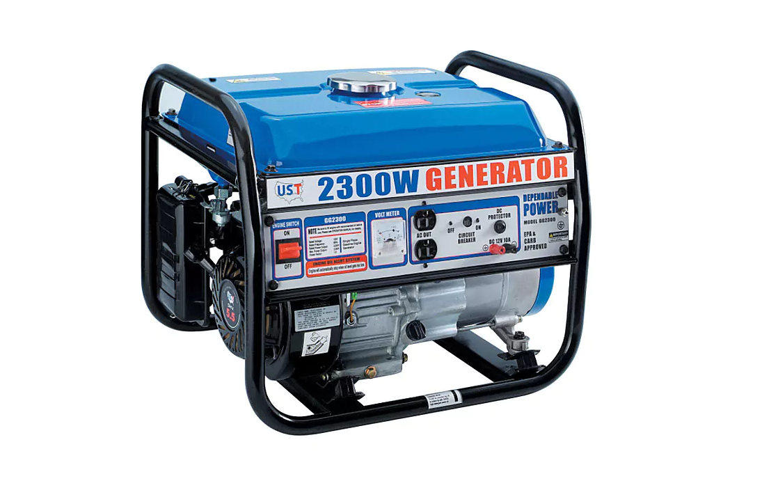Heavy duty 2300-Watt Gasoline Powered Portable Generator Camping Emergency New