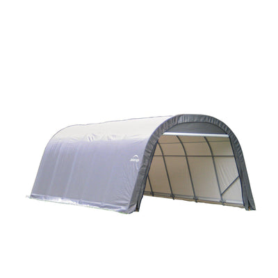 ShelterLogic 72332 Grey 12'x24'x8' Round Style Shelter