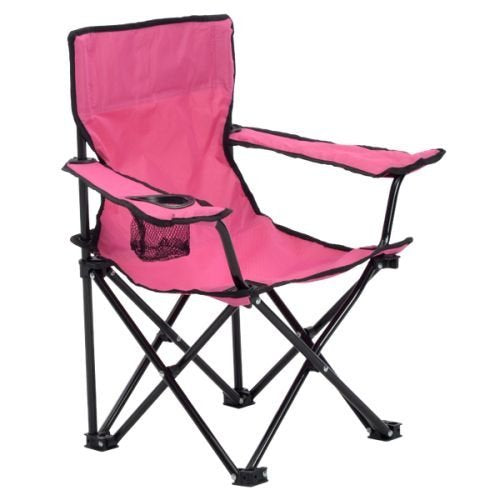 Quik Chair 167562DS Folding Chair, Pink