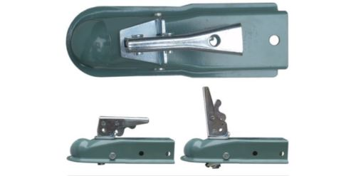 "Trailer Tow Hitch Ball Coupler 1-7/8"" Hitch Ball 2-1/2"" Tongue w/ Spring Release 2000 lbs Cap"