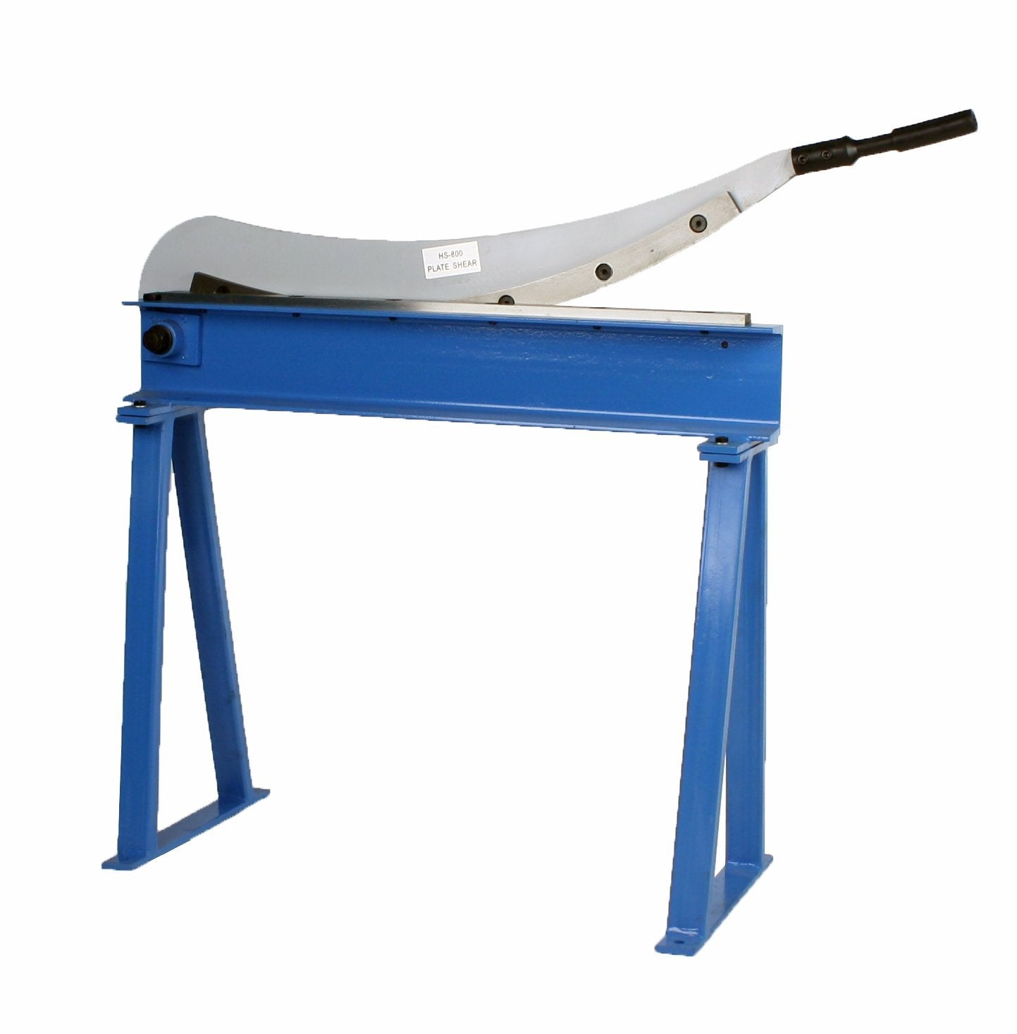 "Manual Guillotine Shear 32"" x 16 Gauge Sheet Metal Plate Cutter With Stand"