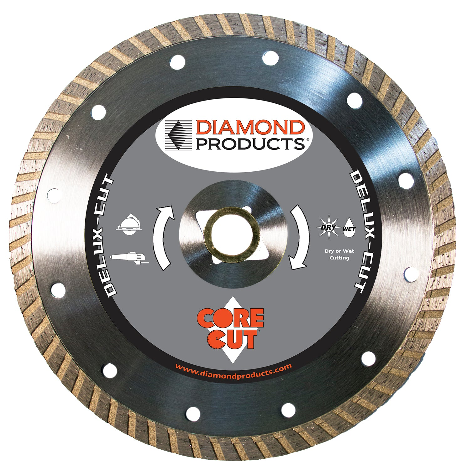 "10"" x .110"" x 1"" Delux-Cut Turbo Blade"