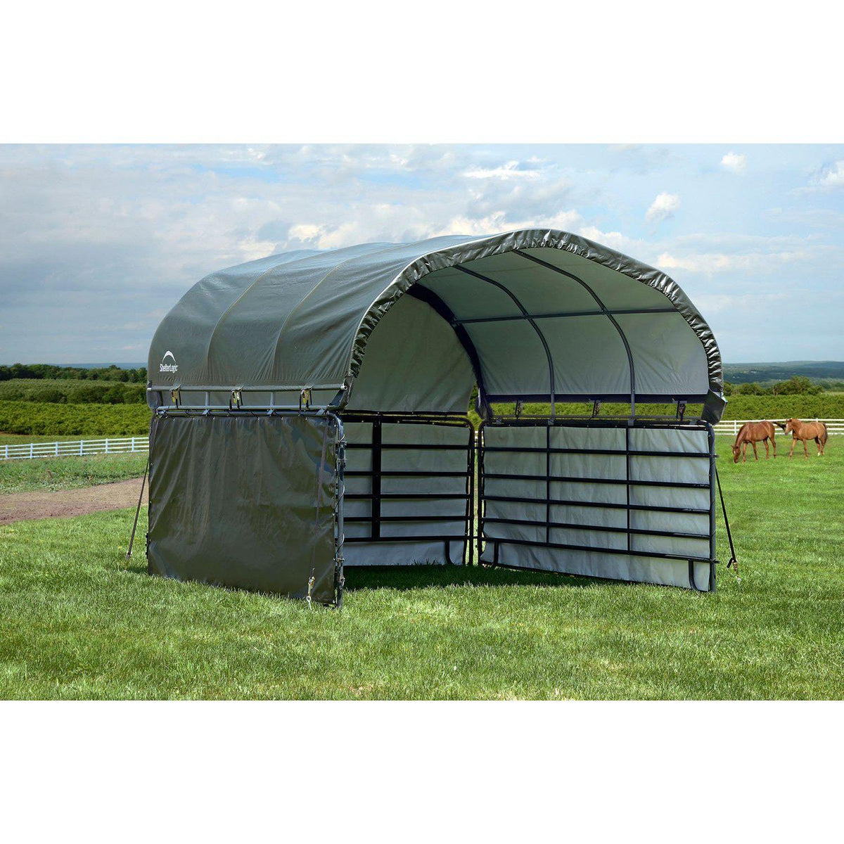 ShelterLogic Livestock Shade Enclosure Kit