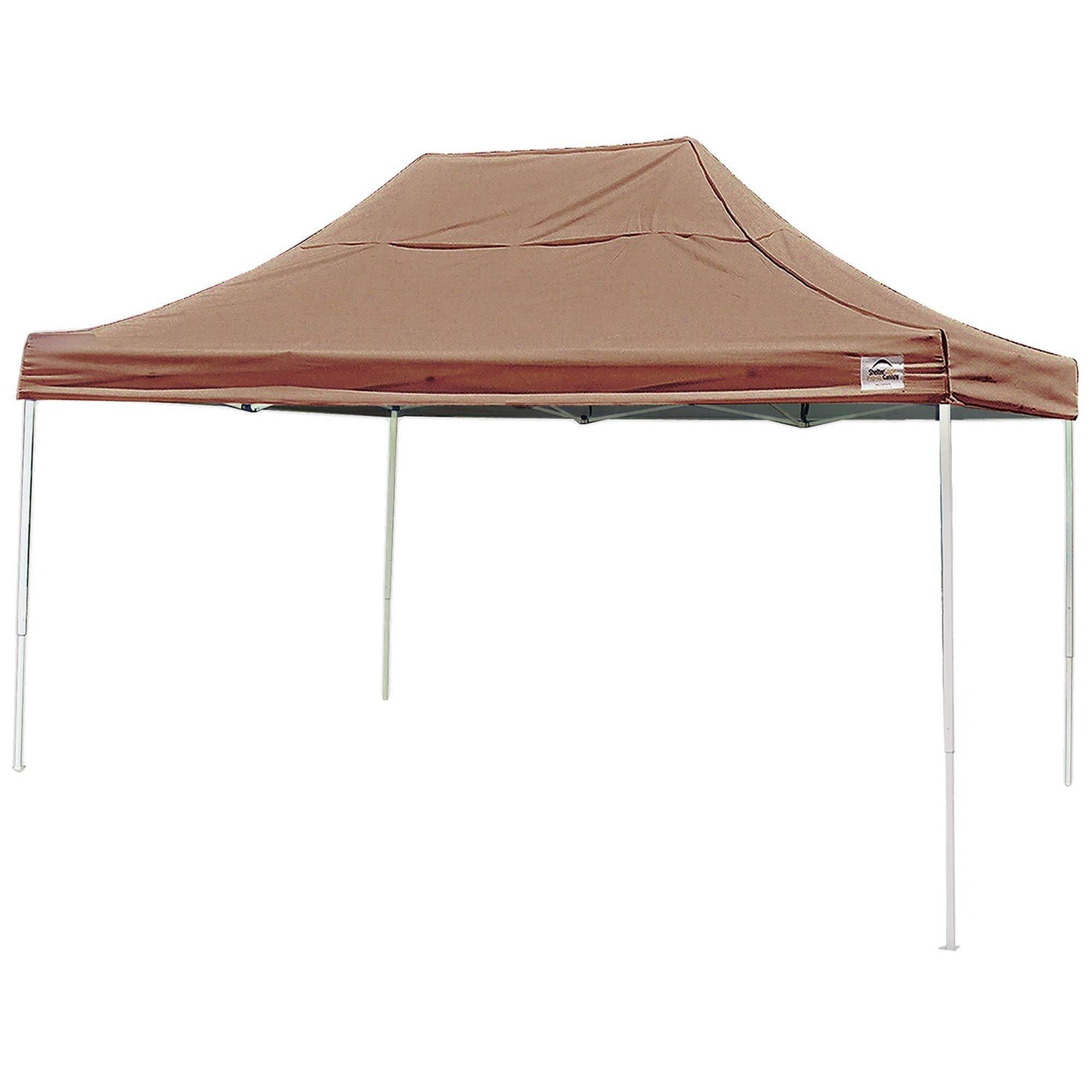 ShelterLogic Straight Leg Pop-Up Canopy with Roller Bag, 10 x 15 ft.