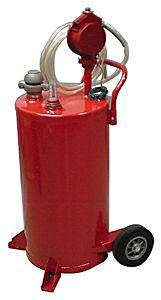 25 Gallon Bidirectional Gas Caddy Oil Gasoline Diesel Fluid Pump
