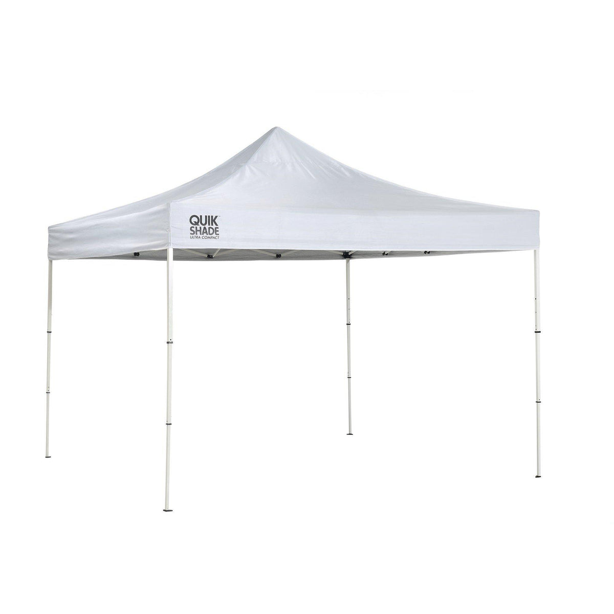 Quik Shade Marketplace Compact 10 x 10 ft. Straight Leg Canopy, White