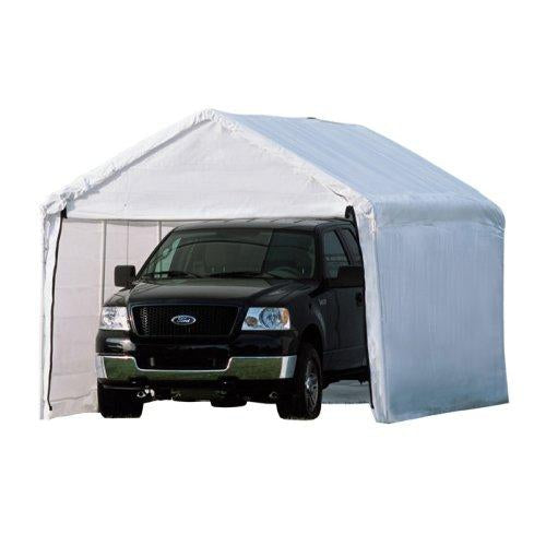 ShelterLogic MaxAP 2-in-1 Canopy with Enclosure Kit, White, 10 x 20 ft.