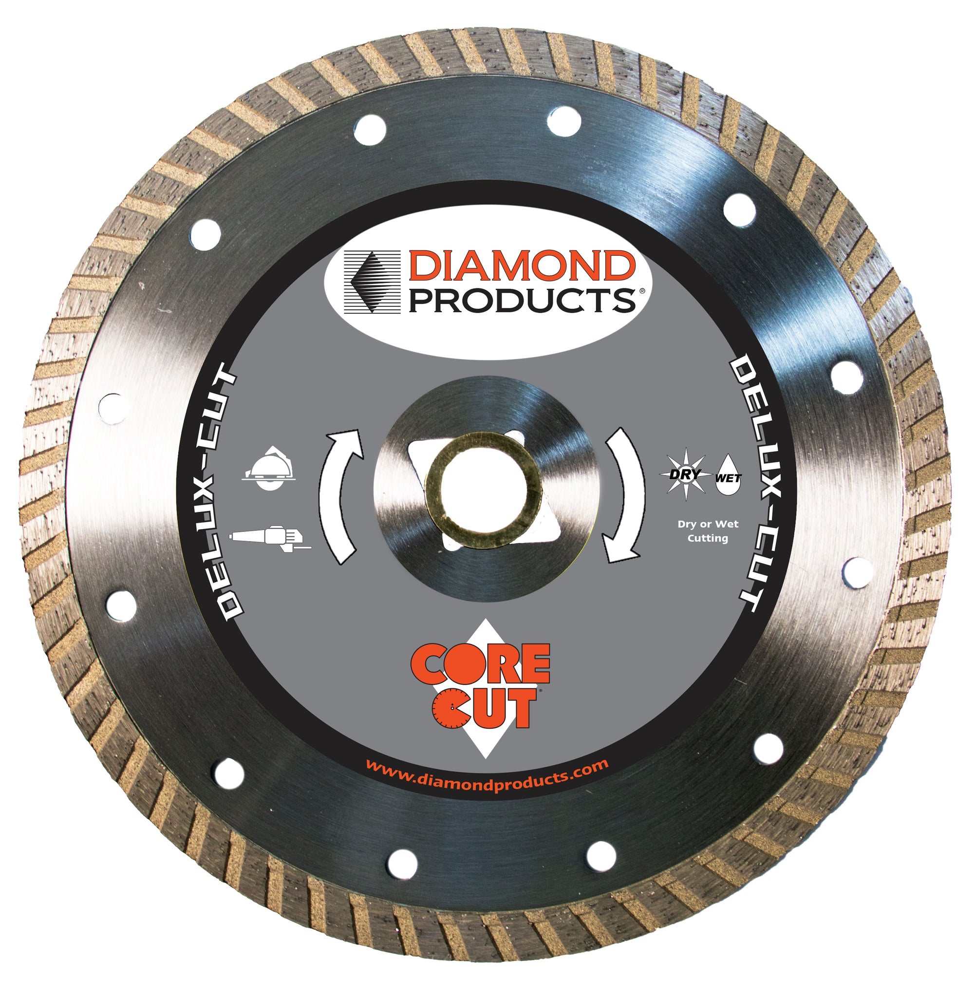 "12"" x .125"" x 1"" Delux-Cut Turbo Blade"