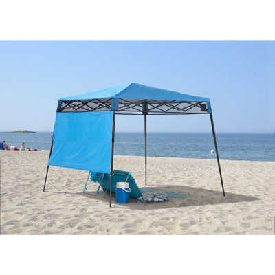 Quik Shade Go Hybrid Compact Slant Leg Backpack Canopy Blue 7 X 7 Fo California Tools And Equipment