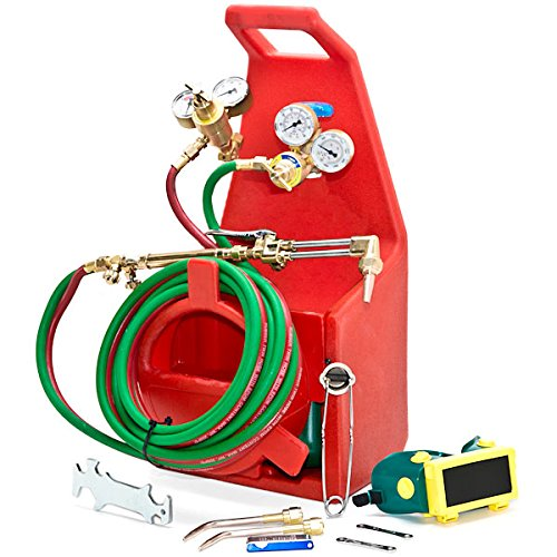 Professional Torch Kit Oxygen Acetylene Oxy Welding Cutting Victor compatible