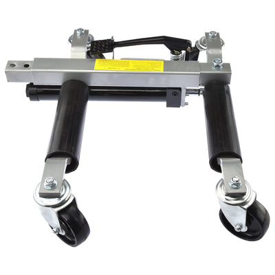 Car Wheel dolly 1500 lb Hydraulic Jack Portable Tire Lift Car Move Positioning x 2 PC
