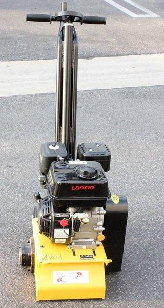 Concrete Cement Scarifier Planer Grinder Preparation Walk Behind