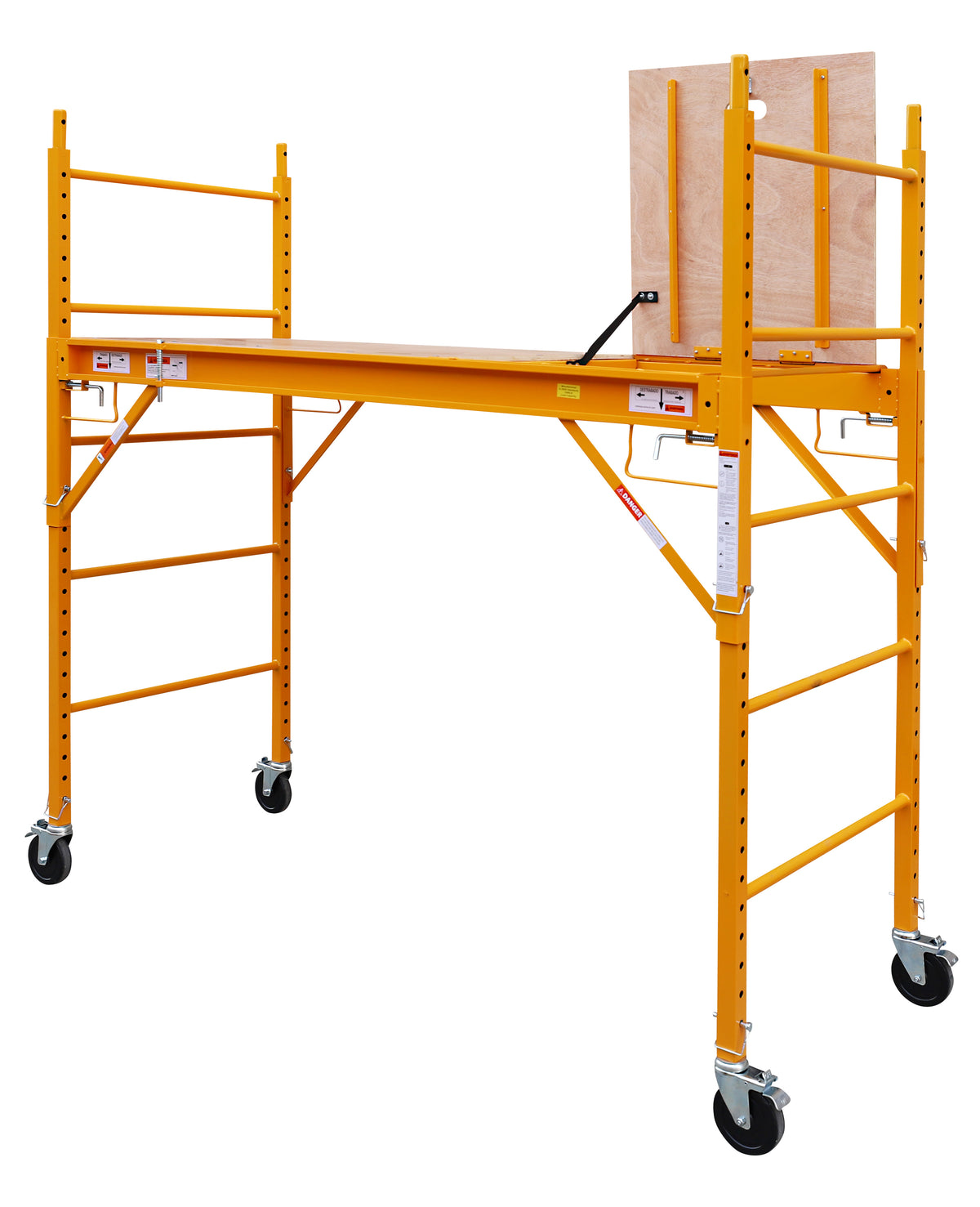 12 Foot Multi Purpose Rolling Scaffolding with Hatch, 1000-LB Capacity