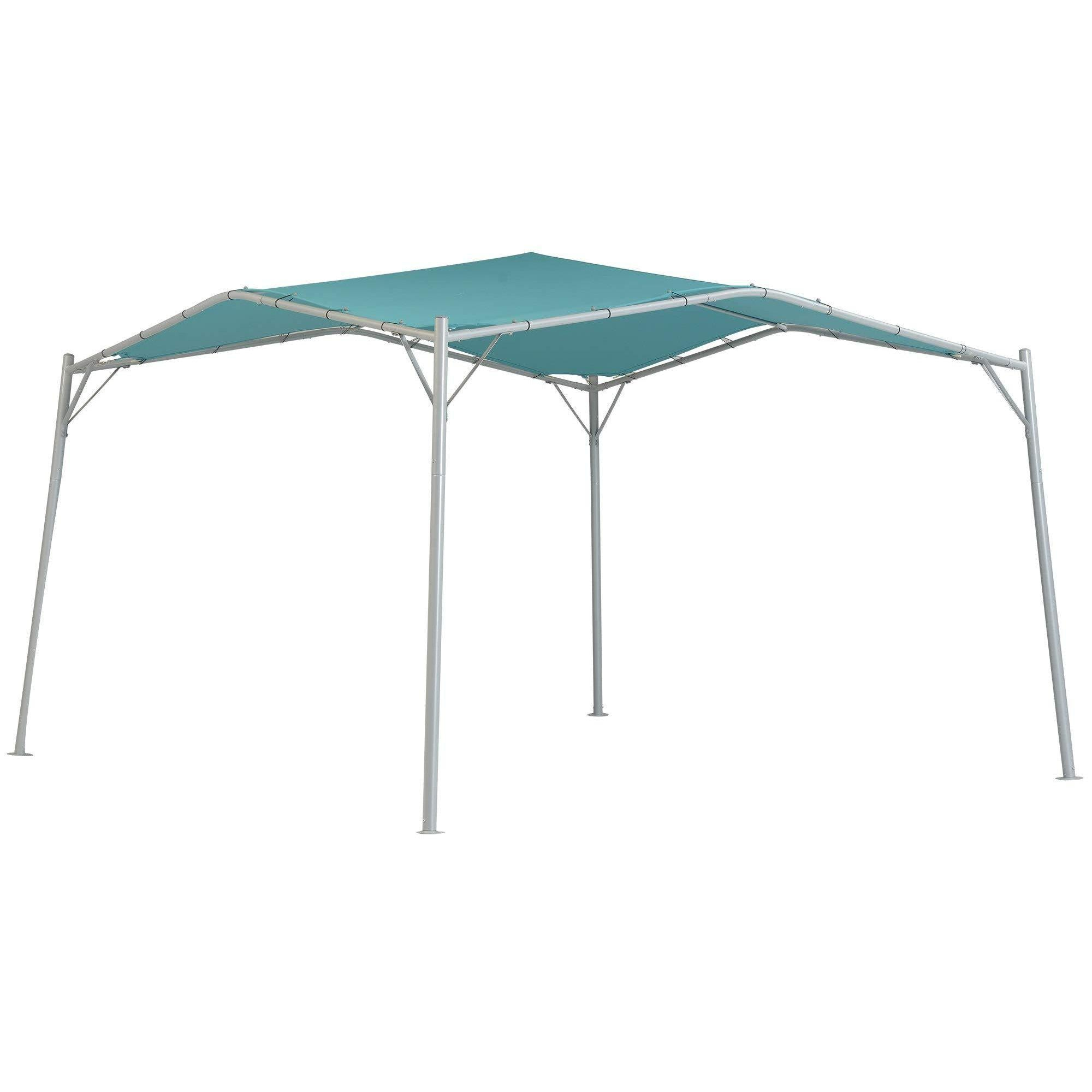 ShelterLogic Gazebo Series Monterey 12 x 12-Foot Easy Assembly Portable UV Protection Outdoor Canopy, Teal