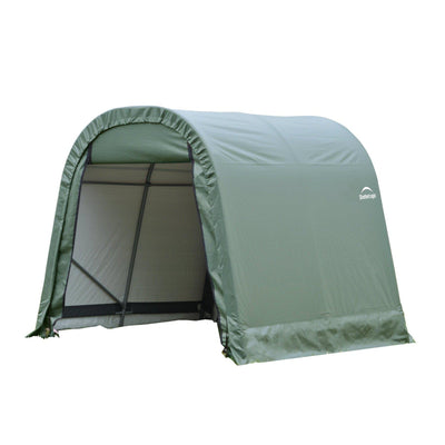 ShelterLogic 77814 Green 10'x12'x8' Round Style Shelter