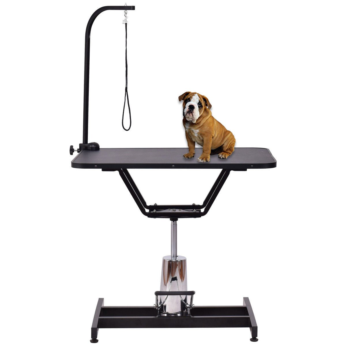 "Pet Grooming Table Hydraulic Adjustable 36"" x 24"" x 1"""