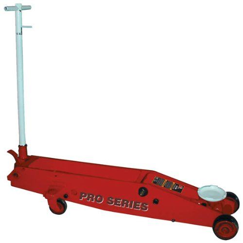 Big Red Long Chassis Frame Hydraulic Service Heavy Duty Floor Jack, 10 Ton Capacity truck bus