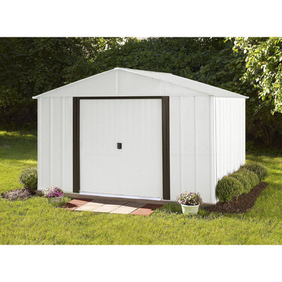 Arrow AR108 Shed Ar108A Arlington 10' By 8' Steel Storage Shed