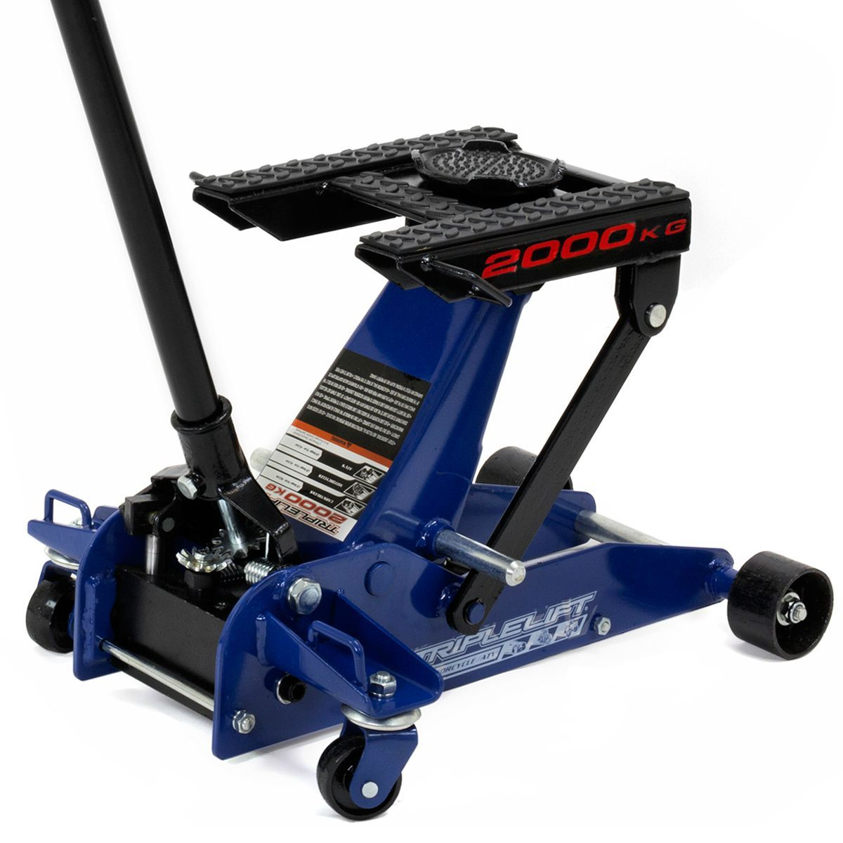 4,400LB Auto Triple Lift Hydraulic Floor Jack 2 ton