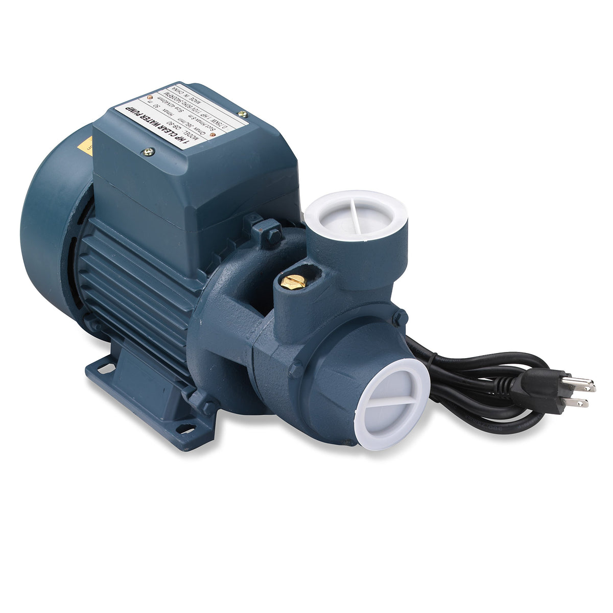 1 Hp Electric Centrifugal Clear Water Pump