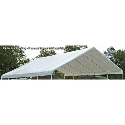 ShelterLogic UltraMax Canopy Replacement Cover, White, 30 x 30 ft. (Canopy Frame and Bungees Sold Separately)